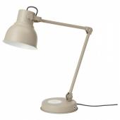 ХЕКТАР Лампа/устройств д/беспровод зарядки,бежевый