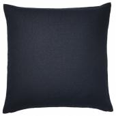 ВИГДИС Чехол на подушку, темно-синий, 50x50 см