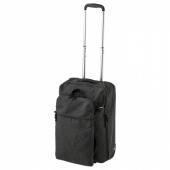 ФОРЕНКЛА Сумка на колесиках и рюкзак,темно-серый