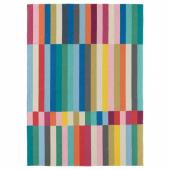 ХАЛЬВЕД Ковер безворсовый, ручная работа разноцветный, 170x240 см
