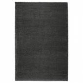 ОДУМ Ковер, длинный ворс, темно-серый, 200x300 см