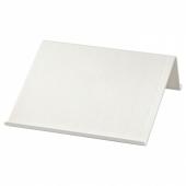 ИСБЕРГЕТ Подставка для планшета, белый, 25x25 см