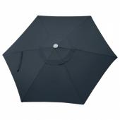 ЛИНДЭЙА Купол зонта от солнца, темно-синий, 300 см