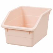 СОККЕРБИТ Контейнер, розовый, 19x26x15 см