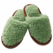 ФЕГЕН Тапочки, зеленый, L/XL