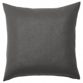 ВИГДИС Чехол на подушку, черно-серый, 50x50 см
