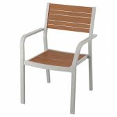 ШЭЛЛАНД Садовое кресло,светло-серый,светло-коричневый
