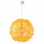 ГРИМСОС Подвесной светильник, желтый, 55 см