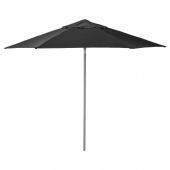 КУГГЁ / ЛИНДЭЙА Зонт от солнца, черный, 300 см