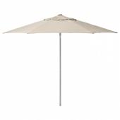 КУГГЁ / ЛИНДЭЙА Зонт от солнца, бежевый, 300 см